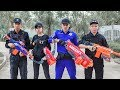 LTT Nerf War SEAL X Warriors Nerf Guns Fight Attack Criminal Group Rescue Captain Police
