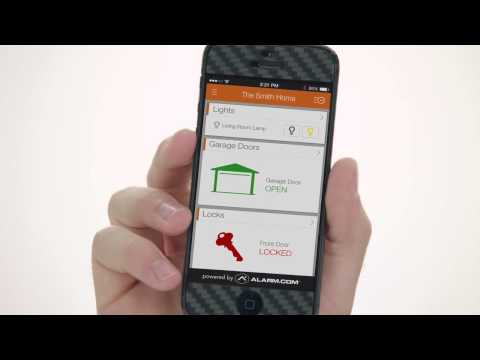 Alarm.com Remote Garage Door Control