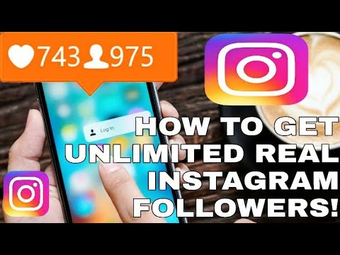 2017 How To Get 100% Real Unlimited Auto Instagram Followers & Likes || HackStar