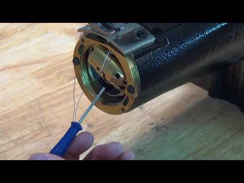 How to adjust thread tension of OUTLAW knife sheath sewing machine