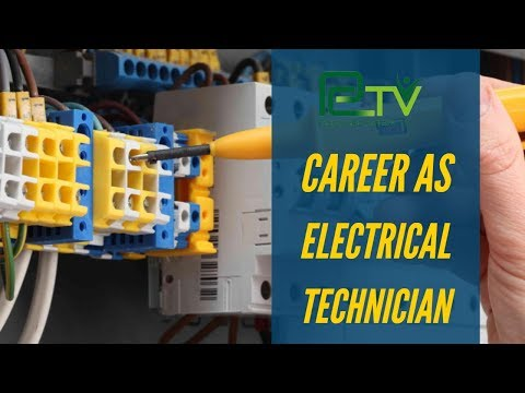 Career As Electrical Techenicain
