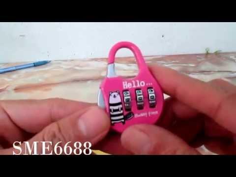 Set Code Password Combination Padlock Locker Lock