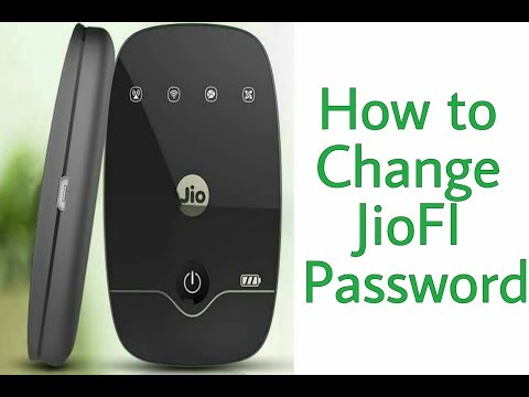 How to change JioFi2 Wifi Name aur Password through Laptop or PC