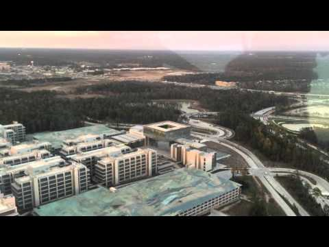 Exxon Mobil Campus courtesy of LiveLoveTheWoodlands com