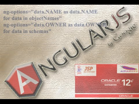 List Oracle Database Schemas, Tables, Columns and table contents using Angularjs and JSP.