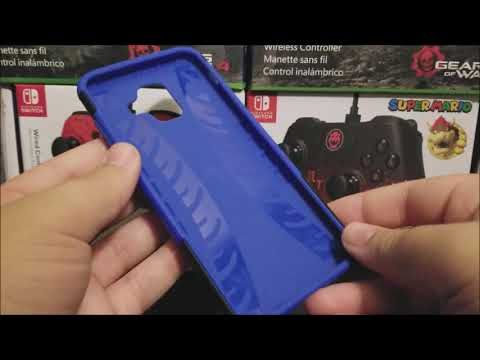 Yiakeng Dual Layer Case for Samsung Galaxy A6 Unboxing