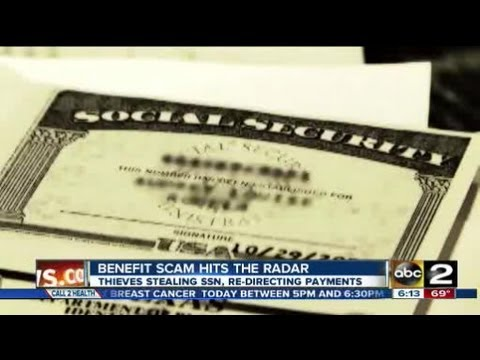 Stealing Social Security Numbers to reroute direct deposit benefits