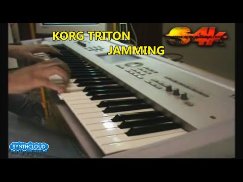 Korg Triton Synth Workstation Jamming by Synthcloud