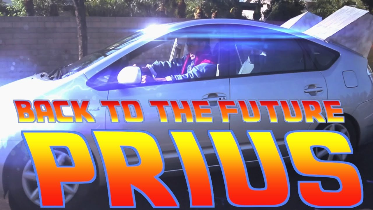 Back to the Future Prius