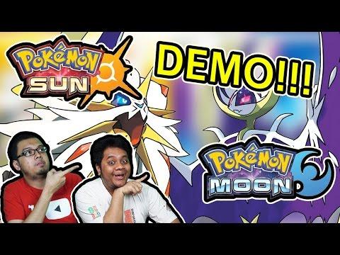 Pokemon Sun & Moon Demo! - Pikachu dan Ash Greninja!!