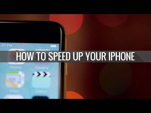 How to speed up any iPhone