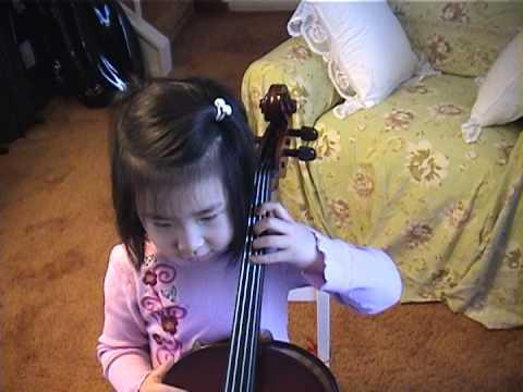 Rachel's First Cello Lesson