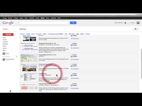Gmail Tips Labs and Preview Pane