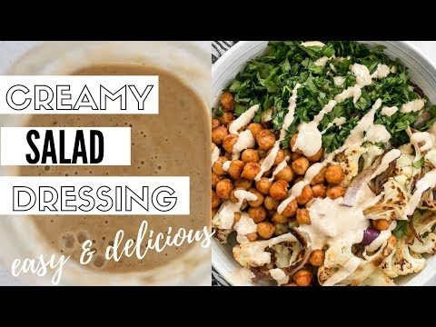 Easy Vegan Salad Dressing