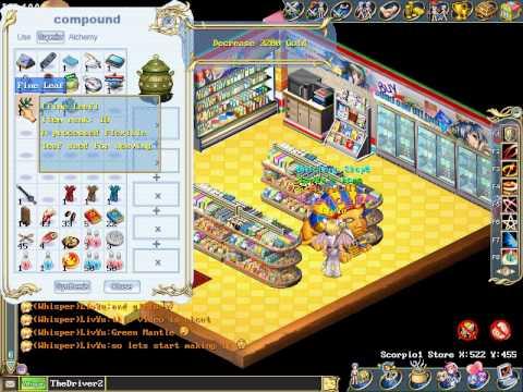Wonderland Online Green Mantle