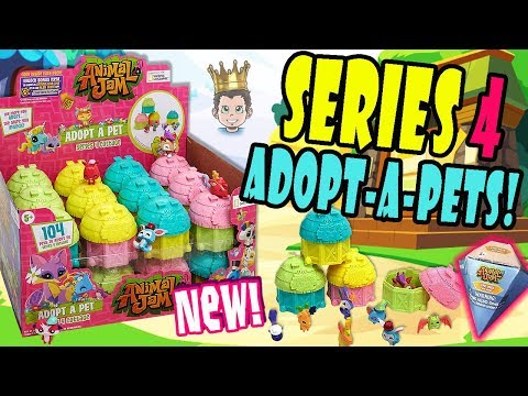 Animal Jam Series 4 Adopt-A-Pet Cottages! Mystery Pack Unboxing 💎 Rare Pet Search!