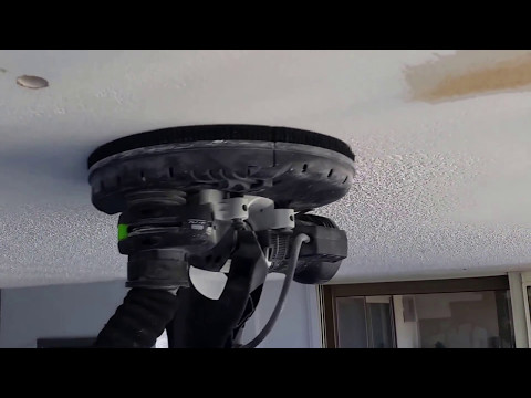Dustless Ceiling Stucco Popcorn Texture Removal by Strataline Inc.
