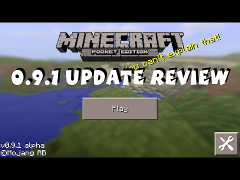 [0.9.1] Minecraft Pocket Edition Update Review iOS / Android / Kindle / Fire TV