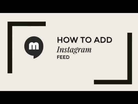 How to Add Instagram Feed Tumblr Themes