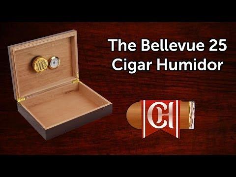 Bellevue 25 Cigar Humidor