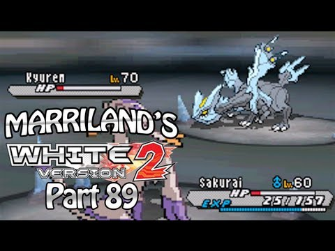 Pokemon White 2, Part 89: Kyurem + Giant Chasm