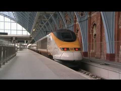 London to the Alps in 2 minutes