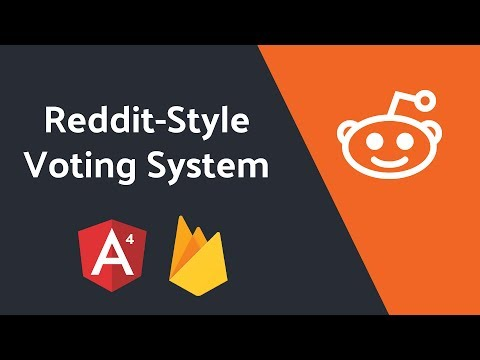 Reddit Inspired Upvoting System with Angular and Firebase NoSQL