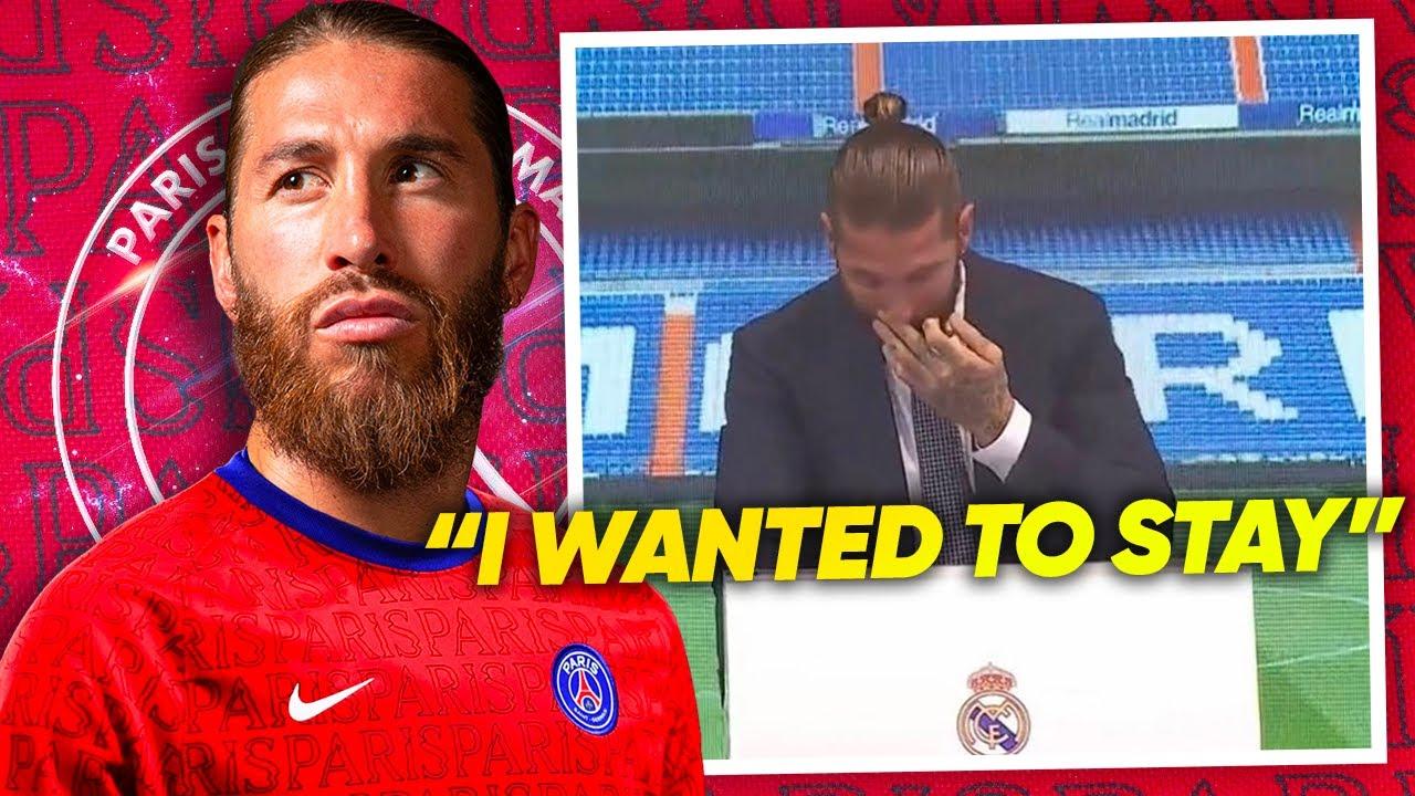 OFFICIAL: SERGIO RAMOS LEAVES REAL MADRID! | #TransferTalk