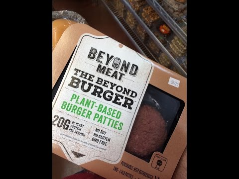 Will cats eat The Beyond Burger (meatless burger)?