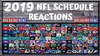 2019 NFL Schedule Release - Preview and Reactions - Fantasy Football Outlook