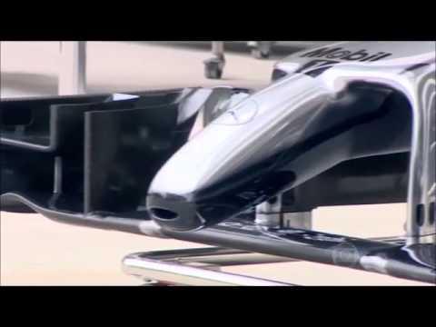 AUTO ESPORTE GLOBO 25/01/2015 Carros de F1 terão novos bicos na temporada 2015