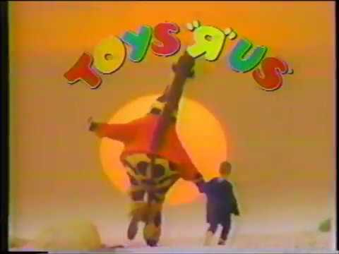 Toys R Us Commercial - Jingle - I Don't Wanna Grow Up (1990)