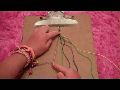 How to make the egyptian friendship bracelet
