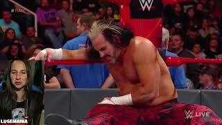 WWE Raw 11/27/17 BROKEN MATT HARDY gimmick returns WONDERFUL