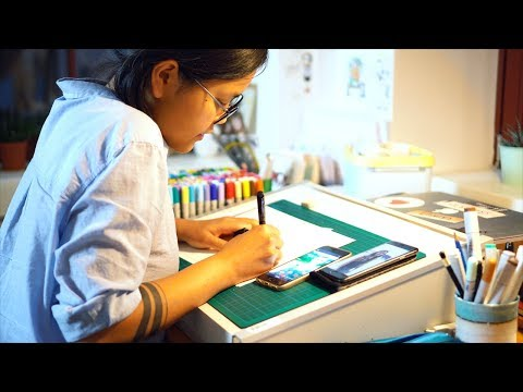 Interview with Mai Doodle Drawings: Freelance Illustrator (English Subtitles)