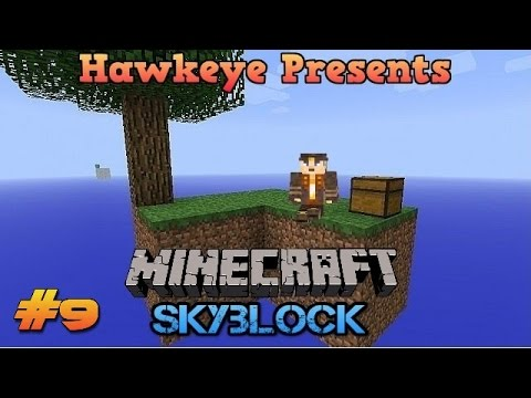 Minecraft (1.10) SKYBLOCK - Ep. #9 - More Animal Spawns & Nether Portals!