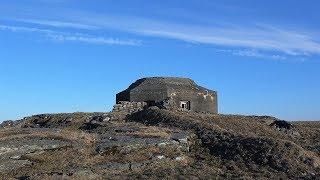 German WW2 machine gun bunker. With a secret..