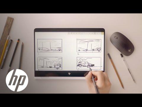 Microsoft SketchPad | Storyboard | HP