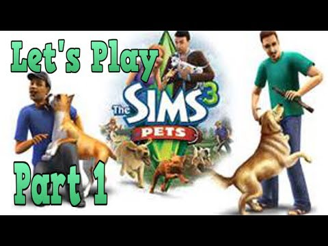 Let's Play: The Sims 3 Pets (Xbox 360) w/ GirlSimmer part 1