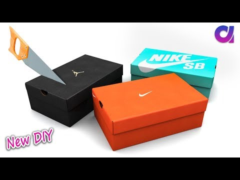 How to reuse Waste shoe boxes at home | Best out of waste | Artkala  358