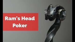 Download How to Forge a Ram's Head Poker! Great Blacksmith Item to Sell! Video