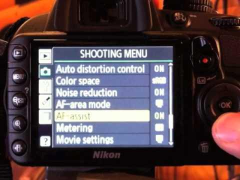 Optimum Camera Settings for NIKON