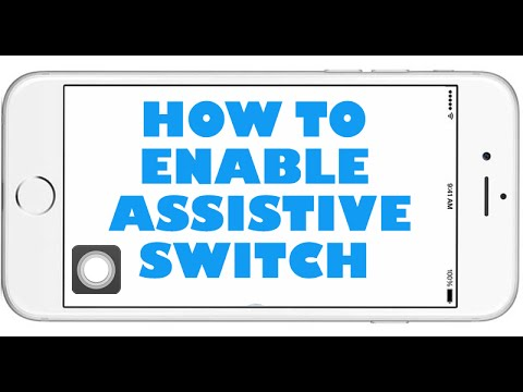 How To Enable Assistive Switch On IOS 8.0.2