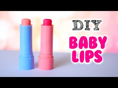 DIY Baby Lips | DIY Tinted lip balm (2 Ways)