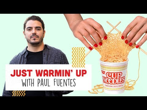 HE TURNED YARN INTO NOODLES! | Just Warmin' Up