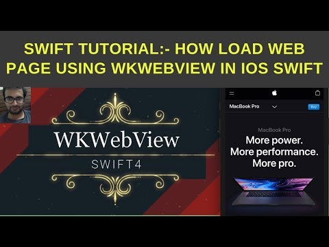 Swift Tutorial: How to load web page using WKWebView in ios swift