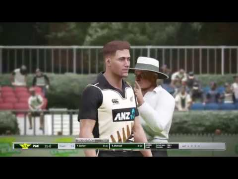Ashes Cricket - New Zealand vs Pakistan (Super Over)