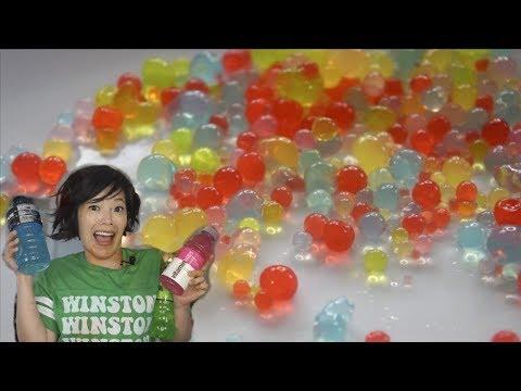 Agar SPHERIFICATION   DIY  Edible Jelly Orbeez - KITCHEN SCIENCE   Molecular Gastronomy