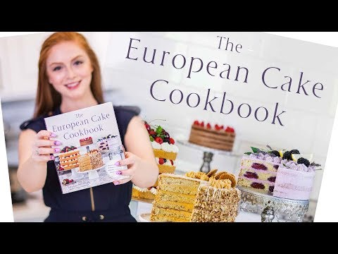 My Cookbook is now LIVE! - The European Cake Cookbook