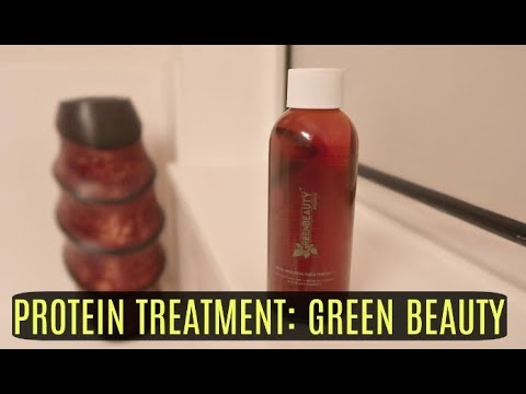 Review of Green Beauty's Protein Treatment
